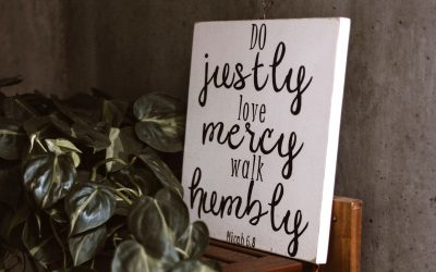 Walk Humbly With God
